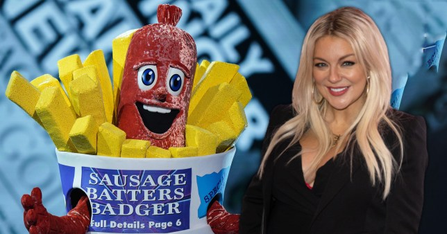 Sheridan Smith might be the Sausage on The Masked Singer