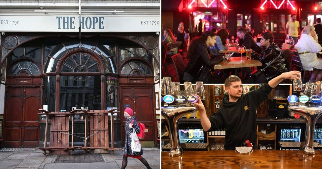 Pubs and restaurants could remain closed until May, reports suggest.