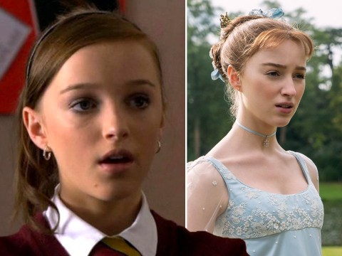 Bridgerton star Phoebe Dynevor once starred in Waterloo Road and fans can't believe it