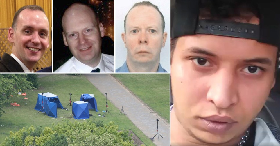 Terrorist given whole life order for stabbing three men in Reading park