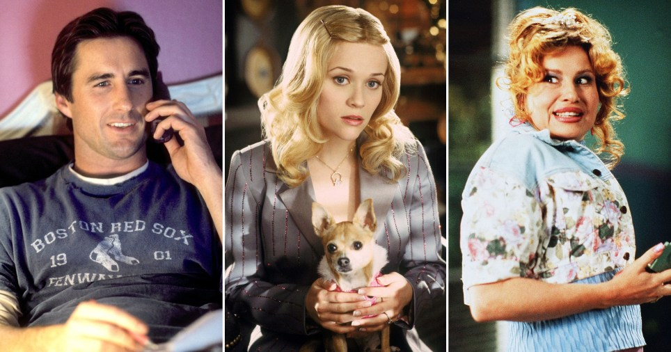 Luke Wilson, Reese Witherspoon and Jennifer Coolidge in Legally Blonde 2