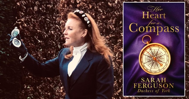 Sarah Ferguson writing racy romance novel inspired by her own life