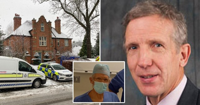 Surgeon Graeme Perks was stabbed by an intruder at his family home
