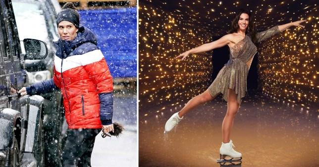 Rebekah Vardy on Dancing on Ice