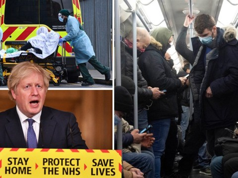 Boris begs Londoners to stay at home as hospitals reach brink with Covid cases