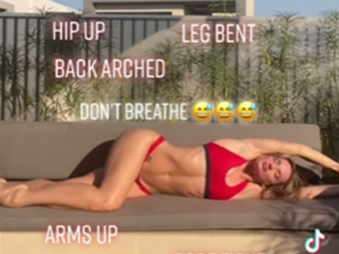 Model reveals secret to influencer bikini photos