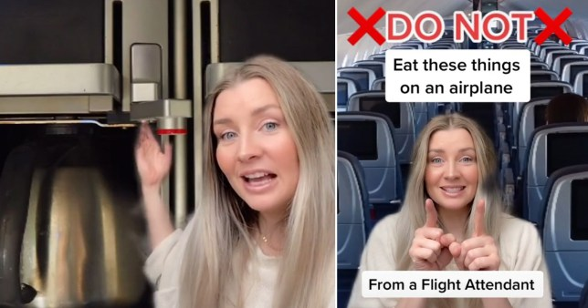 flight attendant shares things you should never order on a plane