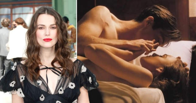 Keira Knightley on red carpet and in