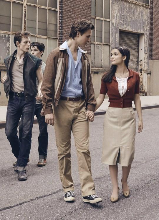 ANSEL ELGORT & RACHEL ZEGLER Film 'WEST SIDE STORY' (2020)