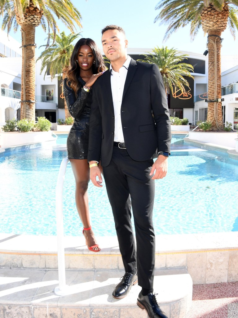 Love Island USA couple Justine Ndiba and Caleb Corprew