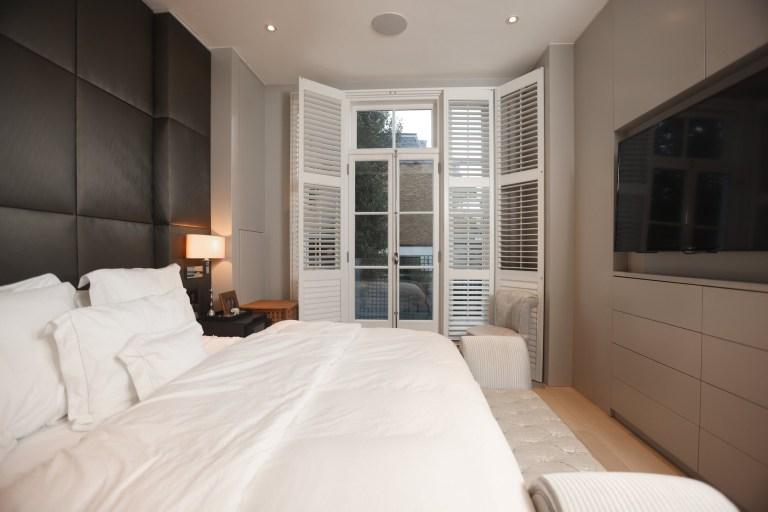 Xenia Tchoumi bedroom
