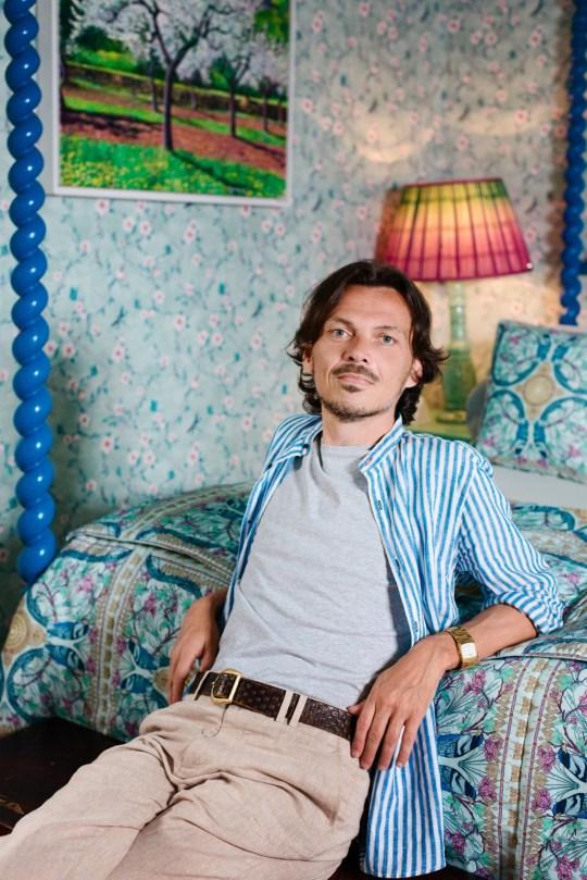 Matthew Williamson, interior designer.