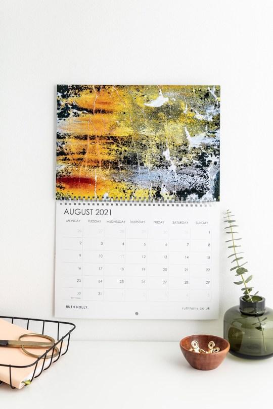 2021 Wall Art calendar