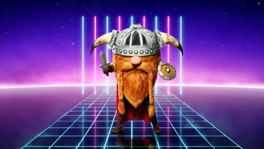 Viking on The Masked Singer UK