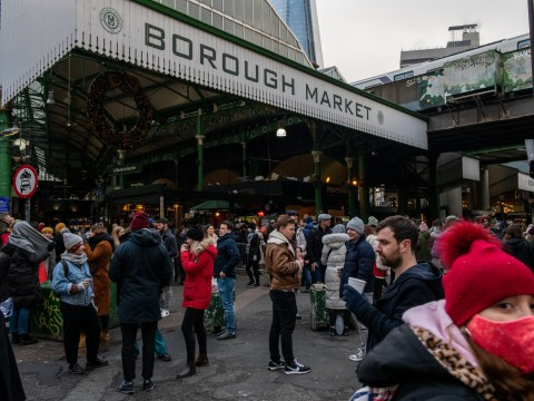 Borough Market is first outdoor space to legally enforce masks with £50 fines