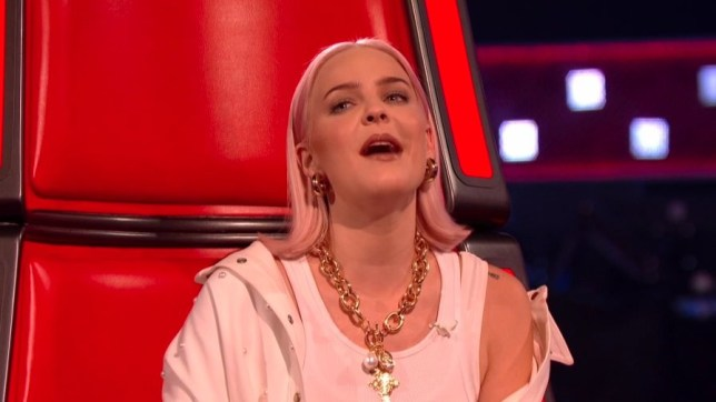 Anne-Marie The Voice UK