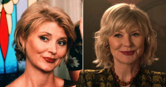Beth Broderick in Sabrina the Teenage Witch and Chilling Adventures of Sabrina