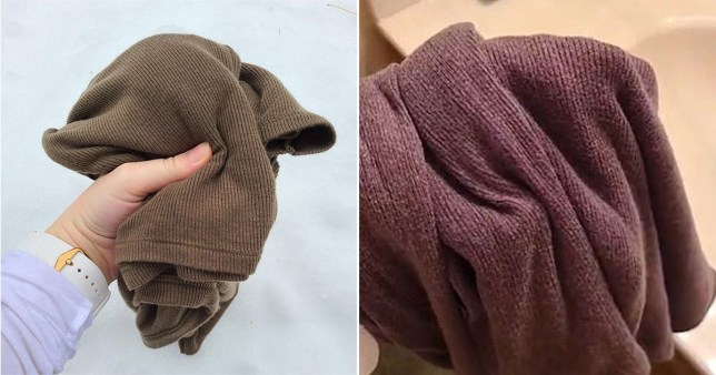 Jumper looks two different colours