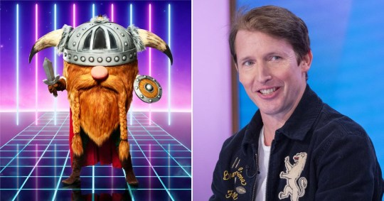 The Masked Singer UK fans think James Blunt is Viking