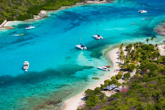 Sandy beach, St Vincent and the Grenadines