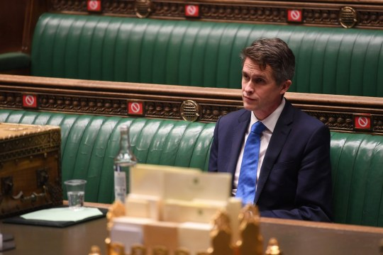 A handout photograph released by the UK Parliament shows Britain's Education Secretary Gavin Williamson attending the presentation of the Secretary of State for Educations statement on educational settings in the House of Commons in London on January 6, 2021. (Photo by JESSICA TAYLOR / UK PARLIAMENT / AFP) / RESTRICTED TO EDITORIAL USE - MANDATORY CREDIT