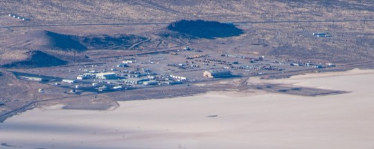 Area 51 seen from the air