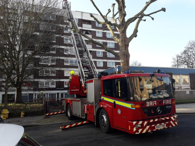 London Fire Brigade @LondonFire ? 49m Six fire engines and around 40 firefighters have been called to reports of a fire on Hammersmith Grove in #Hammersmith More information to follow
