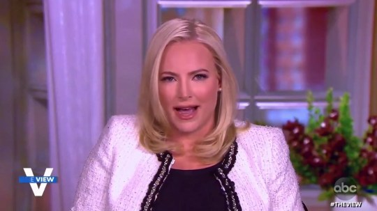 Meghan McCain condemns Capitol riots on The View