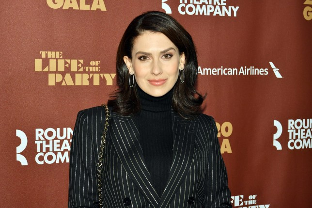 Hilaria Baldwin at Roundabout Theatre Company's Annual Gala