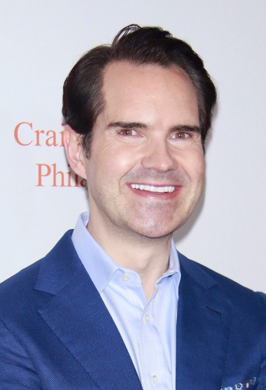 Jimmy Carr old hairline
