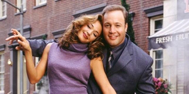 Doug (Kevin James) and Carrie Heffernan (Leah Remini)