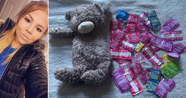 Woman's mum finds huge stash of condoms she hid in her teddy hot water bottle as a teen