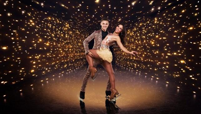 Joe Warren-Plant and Vanessa Bauer. 'Dancing On Ice' TV Show, Series 13, UK - 17 Jan 2021