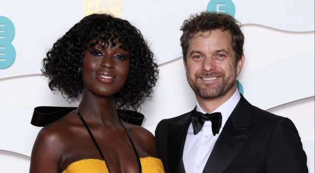 Jodie Turner-Smith and Joshua Jackson at 73rd British Academy Film Awards