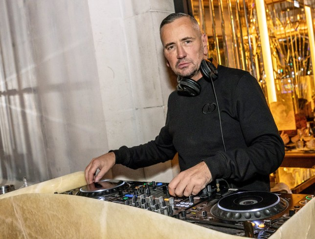 LONDON, ENGLAND - DECEMBER 13: DJ Fat Tony performs during his Christmas Special at Brasserie Of Light in Selfridges London on December 13, 2020 in London, England. (Photo by David M. Benett/Dave Benett/Getty Images)