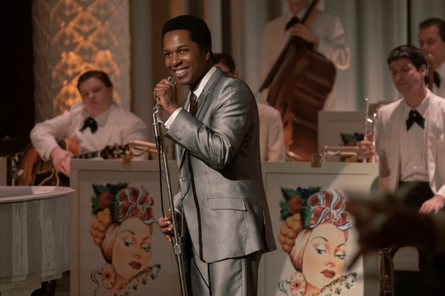 Leslie Odom Jr. plays singer Sam Cooke in One Night in Miami