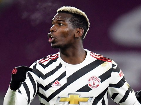 Gary Neville picks Paul Pogba as his Man of the Match as Manchester United beat Burnley