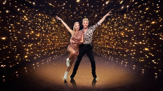 Denise Van Outen and Matt Evers on Dancing on Ice