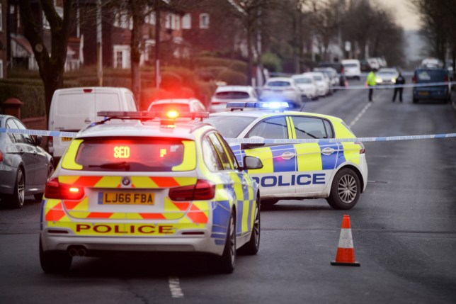 A four year-old girl was rushed to hospital with serious head injuries after a collision in north Manchester. The air ambulance was scrambled following the incident on Charlestown Road in Blackley yesterday afternoon [Jan 12]. Caption: Police at the scene of a road traffic collision on Charlestown Road in Blackley, north Manchester, on 12 January 2021