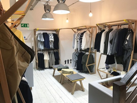 Liquor Store Menswear shop featuring both heritage brands and modern labels, hailing ?from Japan to Birmingham and everywhere in between?. There?s a speakeasy-style bar in the basement, too. 3 The Grand, 27, Colmore Row, B3 https://liquorstoreclothing.com/