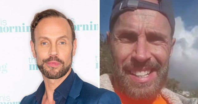 Jason Gardiner has given up showbiz and now is a farmer