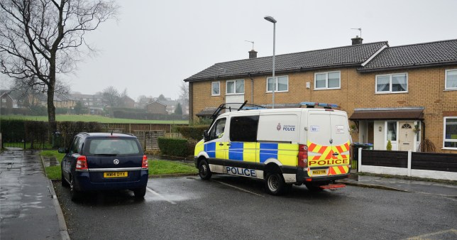 A man has been arrested on suspicion of murder after the death of a two-week old baby in Heywood.