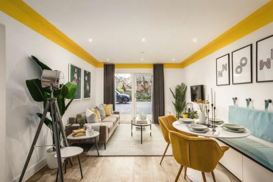 The Gade, Hemel Hempstead - living room