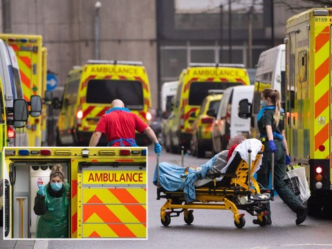 Patients 'treated in ambulances as there was no space in A&E'