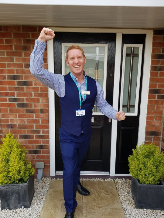 an nhs worker and the house he's raffling off