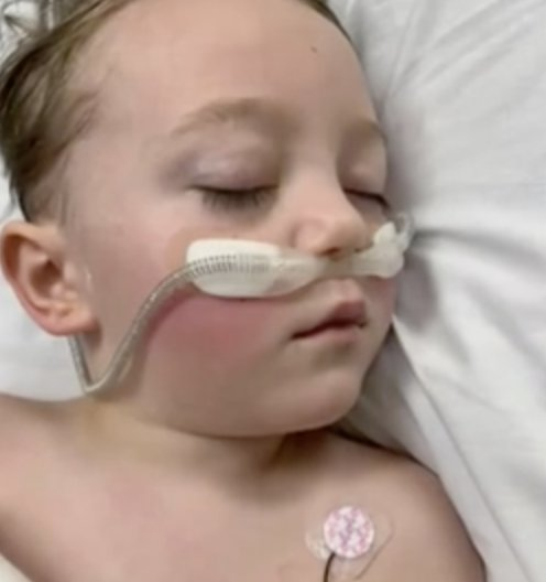 Boy, 4, unable to speak and could only groan with pain after serious Covid infection