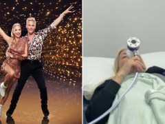 Dancing on Ice pro Matt Evers pays tribute to partner Denise Van Outen amid hospital scare