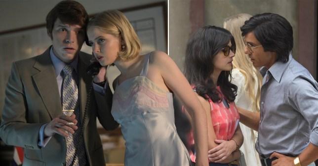 Billy Howle, Ellie Bamber, Jenna Coleman and Tahar Rahim in The Serpent based on Charles Sobhraj
