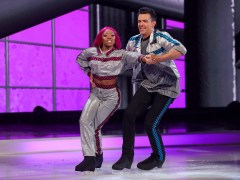Dancing on Ice 2021 viewers 'obsessed' with Lady Leshurr's rap at start of routine