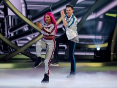 Dancing on Ice viewers 'fuming' as Lady Leshurr lands in first skate-off